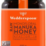 Wedderspoon Monofloral Manuka Honey Kfactor 16
