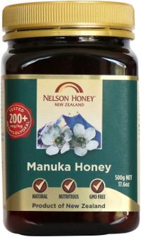 Nelson Manuka Honey MGO 200+ 500g