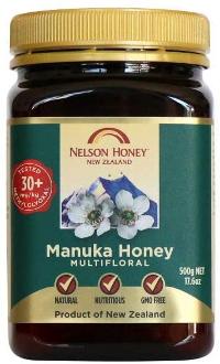 Nelson Manuka Honey 30+ MGO 500g