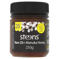 steens raw 25+ manuka honey NPA