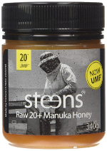 steens umf 20+ raw manuka honey