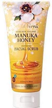 Wild Ferns Manuka Honey Refining Facial Scrub
