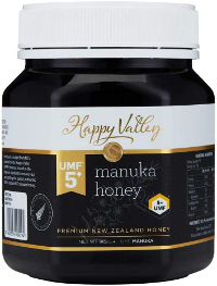 Happy Valley UMF 5+ Manuka Honey 1kg