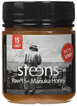 steens umf 15+ raw manuka honey