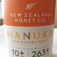 label of New Zealand Honey Co UMF 10+ Manuka honey