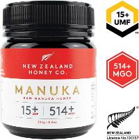 New Zealand Honey Co. Raw Manuka Honey UMF 15+